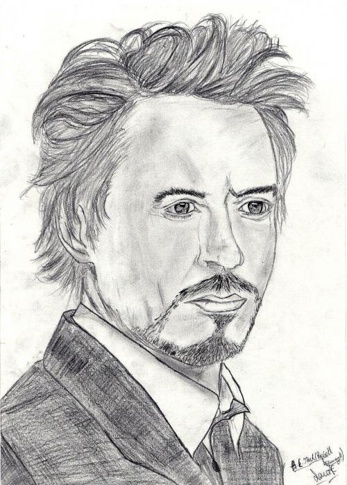 Robert Downey Jr por Rasain